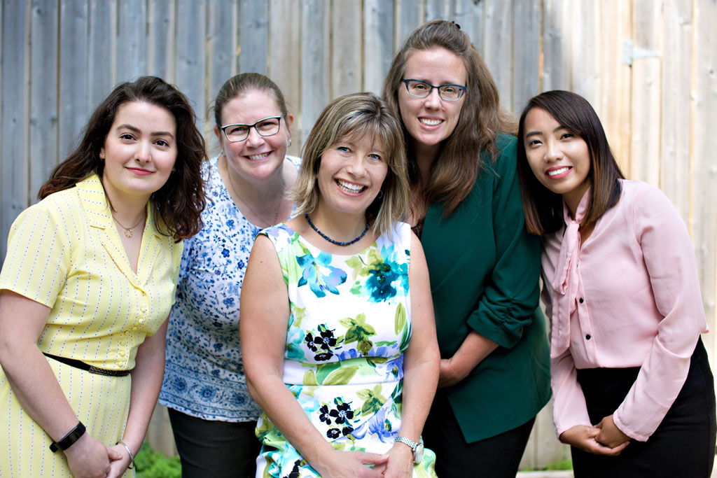Staff accountants and bookkeepers at Padgett Calgary