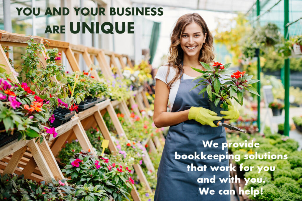 Sole-proprietor (florist) happy that her income and expenses are being tracked and managed by Padgett Calgary accountants and advisors